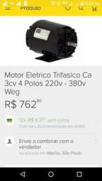 Vendo troco motor 3cv