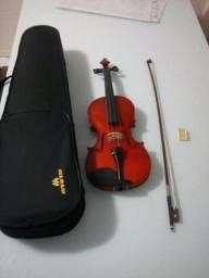 Violino 4/4 Completo Estojo Luxo Marinos