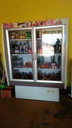Freezer duas portas muito novo