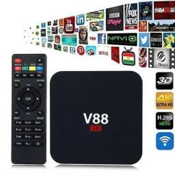 TV Box V88 4K scishion; Entrega Local Gratis!