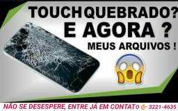 Quebrou o display?