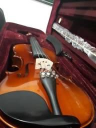 Violino clássico Michael 4/4 novo. Profissional