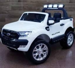 Carrinho auto eletrico infantil ford ranger f650 - babalushow