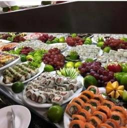 Fantástico Restaurante de Frutos do Mar em Santa Catarina Beira Mar