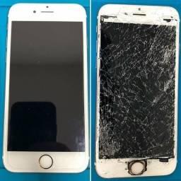 Troca de Tela Celulares Iphone 6 (Assistência técnica especializada)Cohan