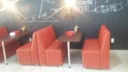 Sofás para lanchonetes e restaurantes auditórios isa center ! leia o anuncio por favor .