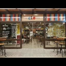 Vendo Maravilhoso café no G3 do Mega Moda Shopping