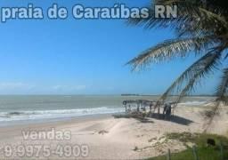 Lotes de 450m2 no litoral Norte praia de Caraúbas RN
