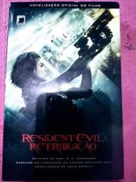 Livro resident evil retribuição