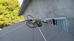 Técnico de antenas ku