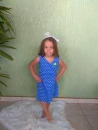 Vestidos de 1 a 8 anos apenas 15 reais