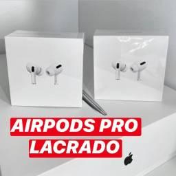 AirPods Pro Apple Lacrado com Nota Fiscal 1 Ano Garantia Fone Bluetooth Original
