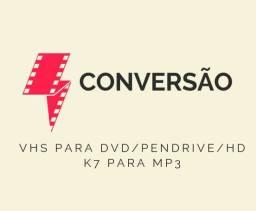 Conversão VHS