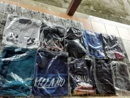 9tshirts e 1 camiseta( todas t. m )