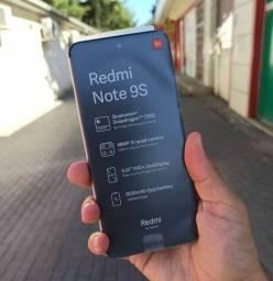 Redmi Note 9s 64 Grafit - celular  Novo na loja