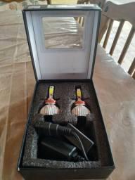 Par de lâmpada de led H11 6000K