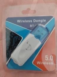 Adptador Bluetooth usb o melhor.