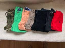 Lote de calças grifadas legítimas tamanho 2 t