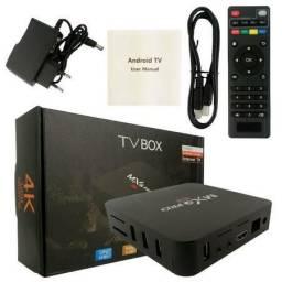 Aparelho TV box 4gb RAM +64gb memória