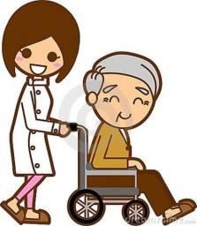 Cuidadora de Idoso cadeirante