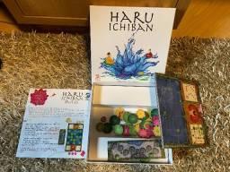 Haru Ichiban boardgame