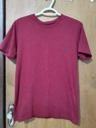 Camisa vinho marca Polo Wear