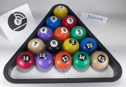 Jogo de bola 8 de 50 ou 54mm