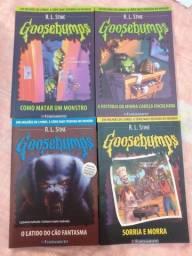 """Livros da série """"Goosebumps"""""""