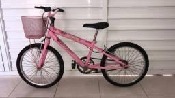 Bicicleta BMX barbie princess aro 20