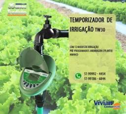 Temporizador de Programação 12 modos de irrigação - Jardim