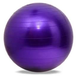 Gym Ball Roxa Bola De Pilates 65 cm