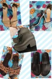 Lote de Melissas e sandálias