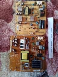 Placas da tv Philips231te4l e aoc 32