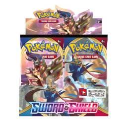 Box Booster Display Pokémon Espada E Escudo
