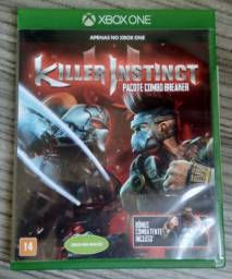 Jogo Killer Instinct Pacote Combo Breaker Original Para Xbox One