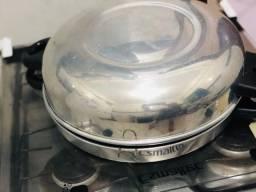 Churrasqueira de fogão com tampa