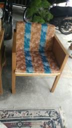 Cadeira Madeira teca