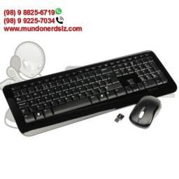 Kit Teclado e Mouse Sem Fio Preto Microsoft 850 PY9-00021 em São Luís Ma