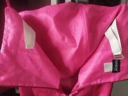 Vestido Rosa Pink P. M, do 36 ao 38