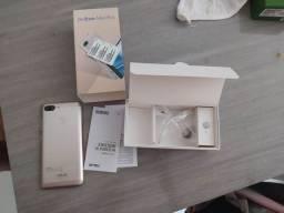 ZenFone max plus na caixa