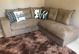 Maravilhoso sofá de canto! 2x2metros!