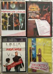 4 DVDs originais