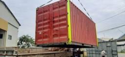 Título do anúncio: Alugo Container Almoxarifado com prateleiras.
