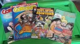 Quadrinhos importados de vários países