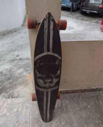 Longboard rolamento rede bones