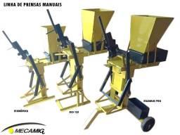 Maquina manual  de tijolo ecológico top de linha + de 20 tipos de tijolos