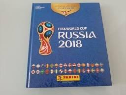 Álbum de figurinhas Completo Copa do Mundo 2018 capa dura