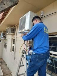Instalação de ar condicionado três Lagoas MS