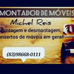 Michel Reis montador de móveis