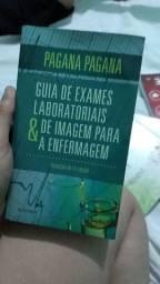 Livro para área de Enfermagem. Livro guia de exames laboratoriais e de imagem